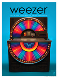 Weezer Costa Mesa 2013 Posters by Kii Arens
