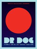 Dr. Dog Lincoln Hall Poster par Kii Arens