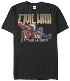 Captain America Civil War- Clash Of Heroes Shirt