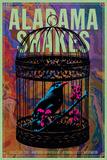 Alabama Shakes 2015 Poster van Kii Arens
