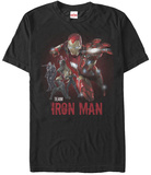 Captain America Civil War- Team Iron At The Ready T-Shirt