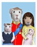 Royal Guinea Pigs (Pets Rock) Posters by  Takkoda