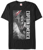 Captain America Civil War- Charging To Action Shirt