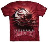 University Of South Carolina- Breakthrough Gamecocks Helmet T-shirts