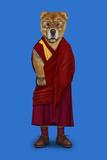 Tibet (Pets Rock) Poster by  Takkoda