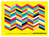 Pet Shop Boys Poster van Kii Arens
