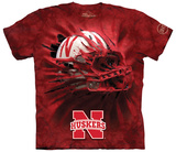 University Of Nebraska- Breakthrough Huskers Helmet Shirt