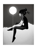 No Such Thing as Nothing by Night Stampa giclée premium di Ruben Ireland