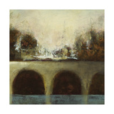Foggy Bridge II Plakater af Randy Hibberd