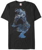 Captain America Civil War- Spatter Panther Shirts