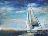 Sail Away Print by Elizabeth Jardine