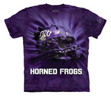 Youth: Texas Christian University- Breakthrough Helmet T-Shirt