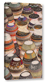 Rustic Southwest Pots Gallery Wrapped Canvas Gallery Wrapped Canvas
