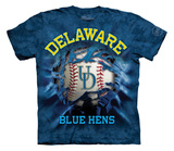 Youth: University Of Delaware- Breakthrough Blue Hens Baseball Shirts