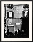 Street Scene in Rome on the Piazza Navona Framed Photographic Print by Chris Hill