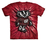 Youth: University Of Wisconsin- Bucky Inner Spirit T-shirts