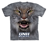 Youth: University Of New Hampshire- Big Face Wildcat T-shirts