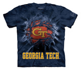 Youth: Georgia Inst. Of Tech- Breakthrough Basketball T-Shirt