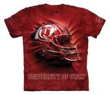 Youth: University Of Utah- Breakthrough Helmet Shirt