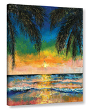 Tropical Sunset Gallery Wrapped Canvas Gallery Wrapped Canvas