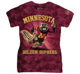 Womans: University Of Minnesota- Charging Goldy Shirts
