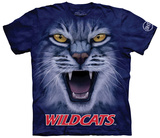 University Of Arizona- Big Face Wilbur T-shirts