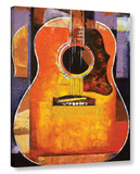 Guitar Gallery Wrapped Canvas Stretched Canvas Print