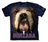 Youth: Gonzaga University- Big Face Spike T-shirts