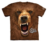 Youth: University Of Montana- Big Face Griz T-shirts