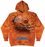 Hoodie: University Of Florida- Fl Breakthroughhelmet Pullover Hoodie