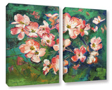 Pink Dogwood 2 Piece Gallery Wrapped Canvas Set Gallery Wrapped Canvas Set