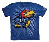 Youth: University Of Kansas- Big Jay Inner Spirit T-shirts