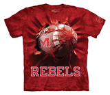 Youth: University Of Mississippi- Breakthrough Rebels Football T-shirts