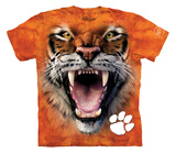 Youth: Clemson University- Big Face Tiger T-Shirt
