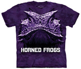 Texas Christian University- Big Face Super Frog T-shirts