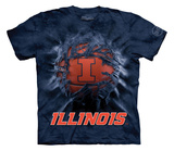 Youth: University Of Illinois- Breakthrough Basketball T-Shirt