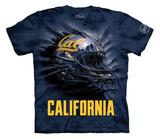Youth: University Of Calif, Berkeley- Breakthrough Call Helmet T-shirts