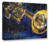 Trumpet Gallery Wrapped Canvas Stretched Canvas Print