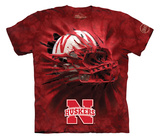 Youth: University Of Nebraska- Breakthrough Huskers Helmet T-shirts