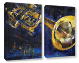 Trumpet 2 Piece Gallery Wrapped Canvas Set Gallery Wrapped Canvas Set