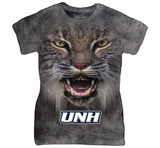 Womans: University Of New Hampshire- Big Face Logo T-shirts