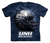 Youth: University Of New Hampshire- Breakthrough Wildcats Helmet T-shirts