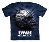 Youth: University Of New Hampshire- Breakthrough Wildcats Helmet T-shirts