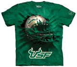 University Of South Florida- Breakthrough Helmet T-shirts