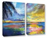 Islamoradana Sunset 2 Piece Gallery Wrapped Canvas Set Gallery Wrapped Canvas Set