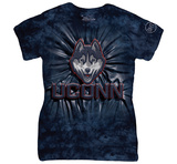 Womans: University Of Connecticut- Jonathan Husky Inner Spirit T-shirts