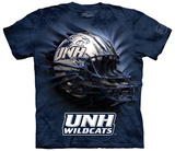 University Of New Hampshire- Breakthrough Wildcats Helmet T-shirts