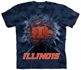 University Of Illinois- Breakthrough Basketball T-shirts