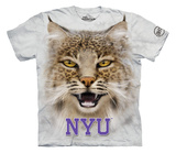 Youth: New York University- Big Face Bobcat Shirts