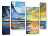 Islamoradana Sunset 4 Piece Gallery Wrapped Canvas Set Gallery Wrapped Canvas Set
